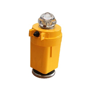 KITFBLED-1 set- mcd4 (bgled888-kit-stern) battery powered navigation light set comprising of: port, starboard & stern, these yellow case model lights are standalone and have magnet-seimi