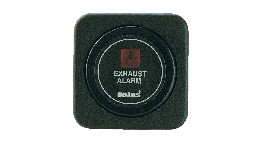 VEXHI24B-dashboard instrument for exhaust temperature alarm 24 v, black #(excl. sensor)-seimi