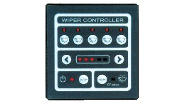 PNS01203-control panel for 3 wipers with synchronization system  12 v cc height 100 mm breadth 98.5 mm depth 75 mm-seimi
