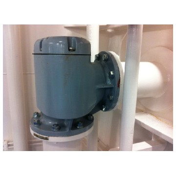 "WSL80A-wiko 5000-3"" angle type (air pipe head with side outlet)-seimi"