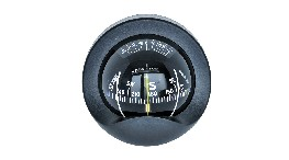C930-bulkhead mount compass 85 mm black-seimi