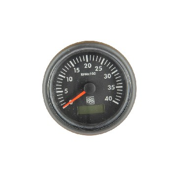 CT1005S-rev counter diam 100mm 12/24v - 5000rpm-seimi