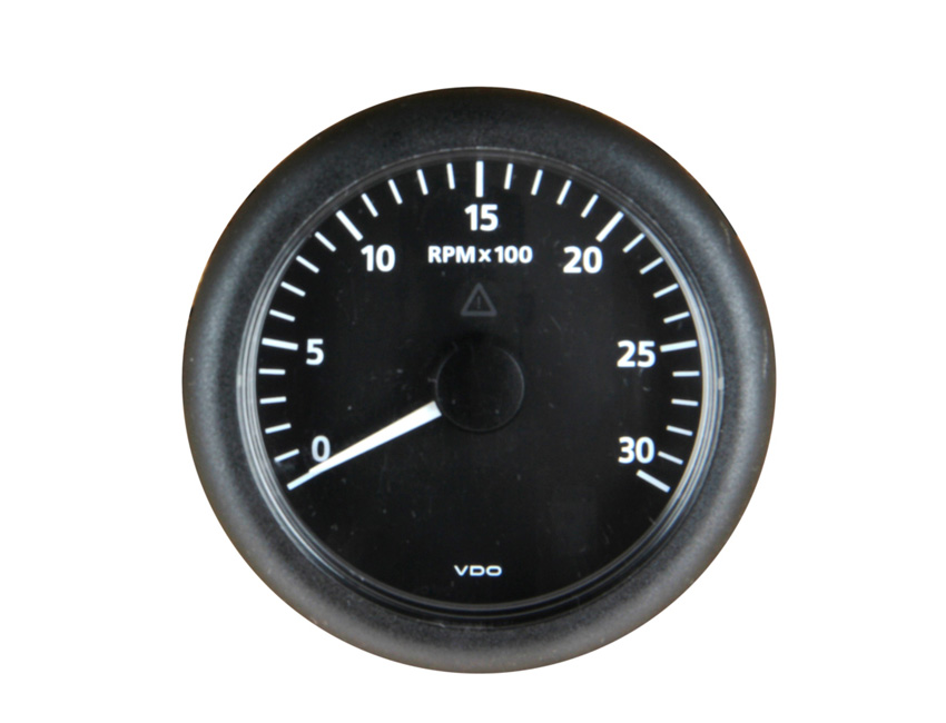 CT524-rev counter -diam. 52mm - 4000rpm-seimi
