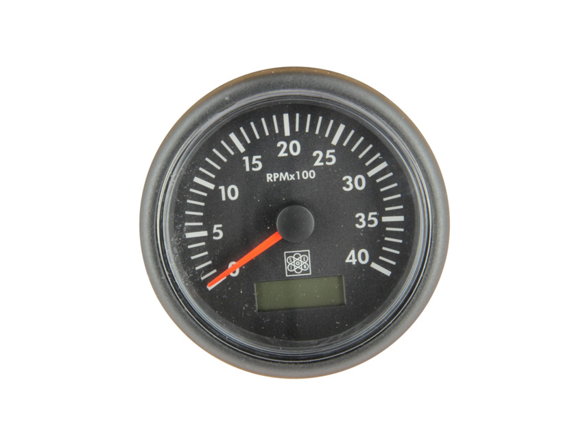 CT855S-rev counter diam 85mm 12/24v - 5000rpm-seimi