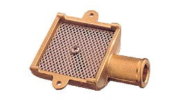120025-bilge strainer in brass 25mm-seimi