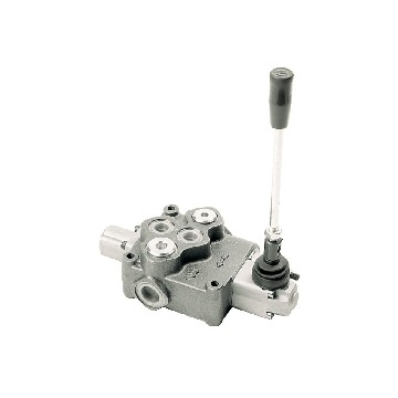 D60L-3 positions control valve - 60 l/min - center closed and spring-seimi