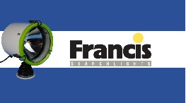 le nouveau projecteur led l230 40w de francis searchlights