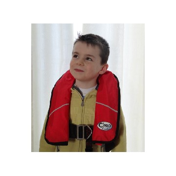 BGE-automatic inflatable lifejacket for kids-seimi