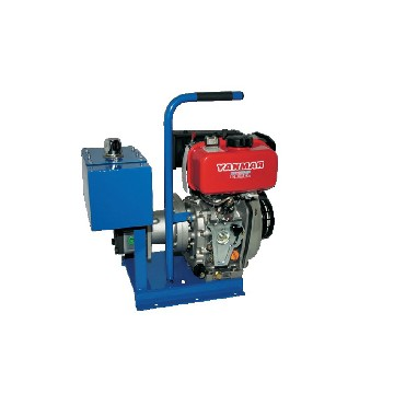 *GHYDRO3DYM-yanmar drive engine hydraulic power-pack pump flow rate (l/min): 15  /  manual starter-seimi