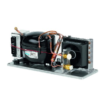 CU84-fridge compressor series 80 386 x 155 x 130mm-seimi