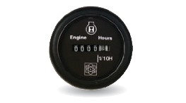 HORAS-12/24v hour meter diam 52 mm-seimi