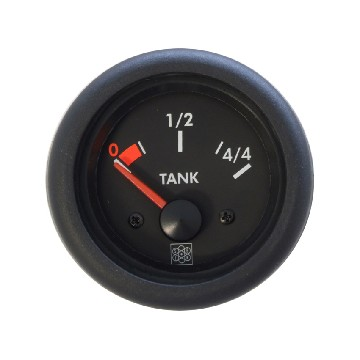 VSG20425-fuel indicator diam 52 mm - 12 v for vsg senders-seimi