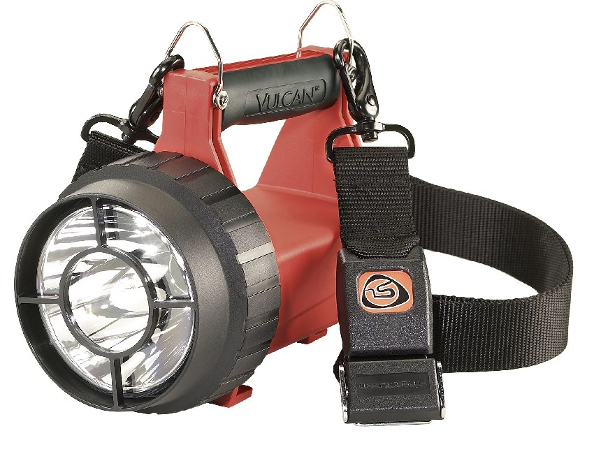 KC44753-lampe vulcan led atex orange 230v + 12v - zone 2-seimi