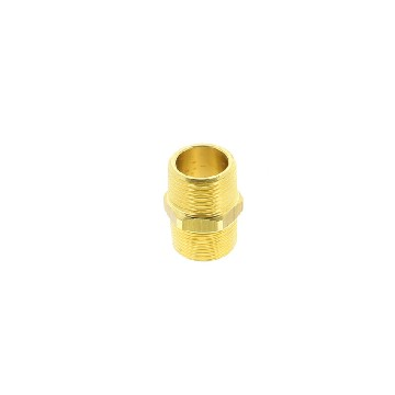 "028014-mamelon laiton m/m filetages: 1/4""-seimi"