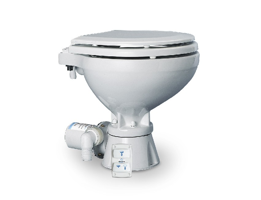 ALB0703011-marine toilet silent electric compact 24v-seimi