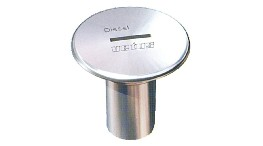 "VECAPF38S-stainless steel filler cap ""diesel fuel"" for hose ? 38 mm, cover ? 87 mm.-seimi"