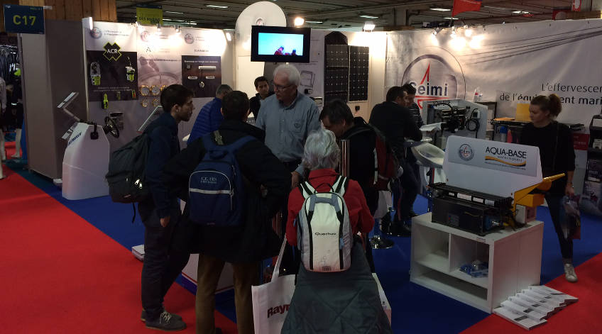 SEIMI's marine equipment stand nautic show 2016