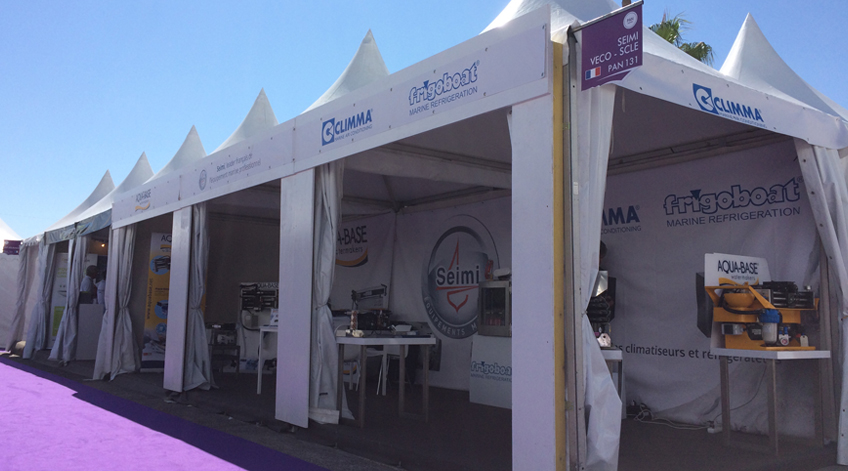 OUR TEAM AT THE YACHTING CANNES FESTIVAL