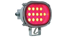 PPLEDR2418-floodlight auriga  red led 24v 18w-seimi
