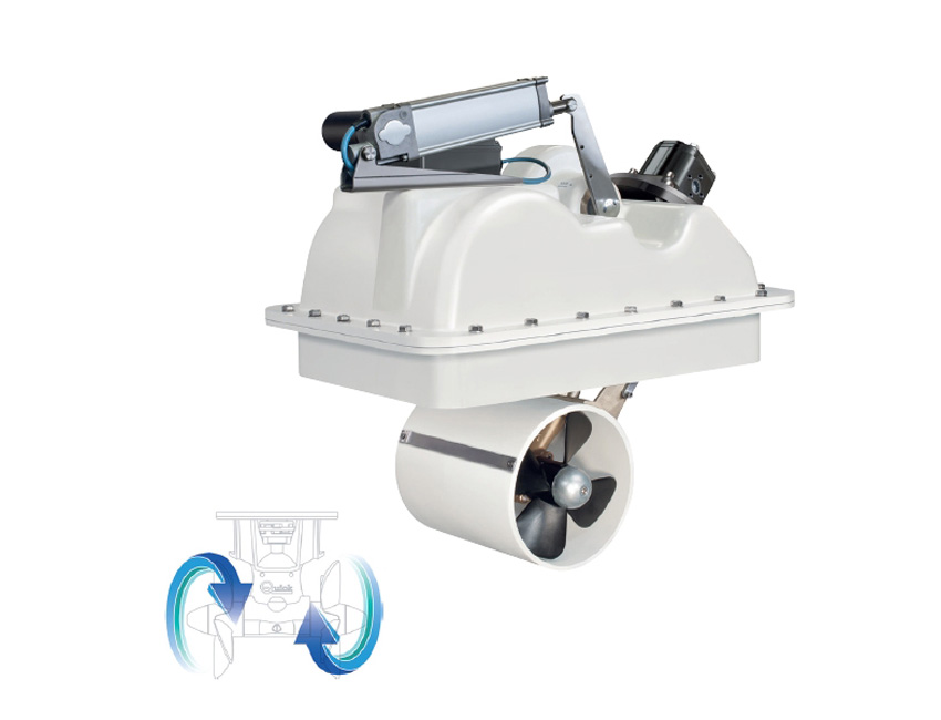 BTRH250150-propulseur retractable hydraulique - 150 kgf-seimi