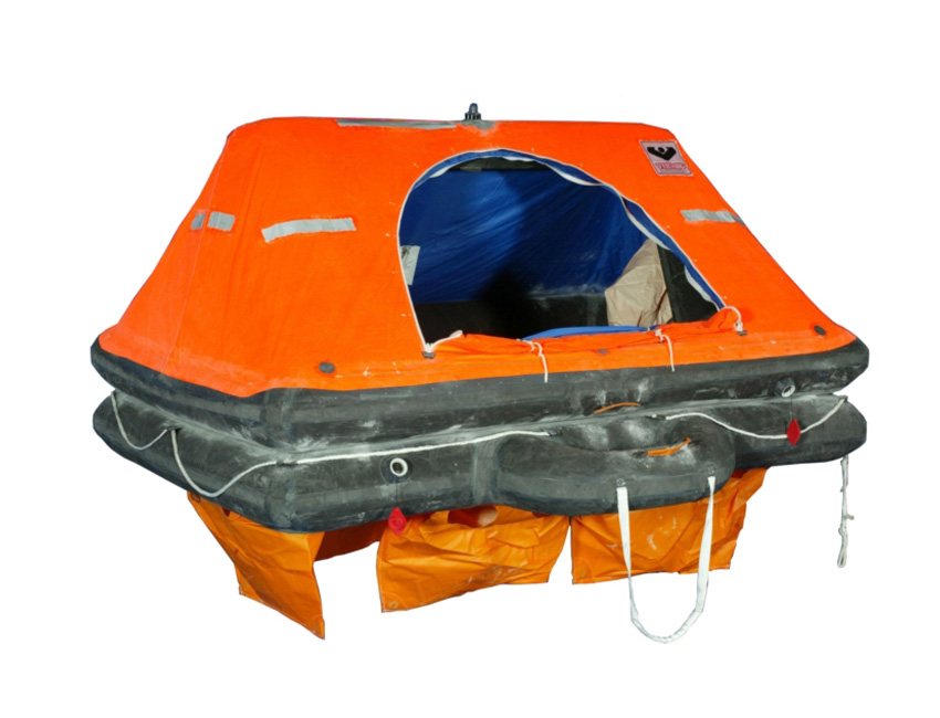 RS6PB-liferaft 6 person pack b-seimi