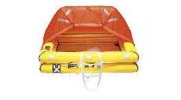 R393-offshore life raft 10 person in container iso 9650-1  (more than 24 hours)-seimi