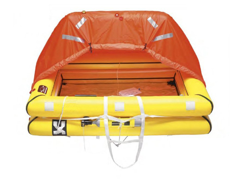 R384-offshore life raft 10 person in bag iso 9650-1 (standard pack)-seimi