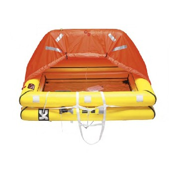 R390-offshore life raft 8 person in bag iso 9650-1  (more than 24 hours)-seimi