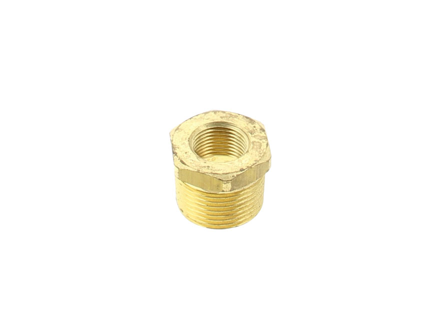 "02413412-reduced brass nipple m 3/4""  / f 1/2""-seimi"