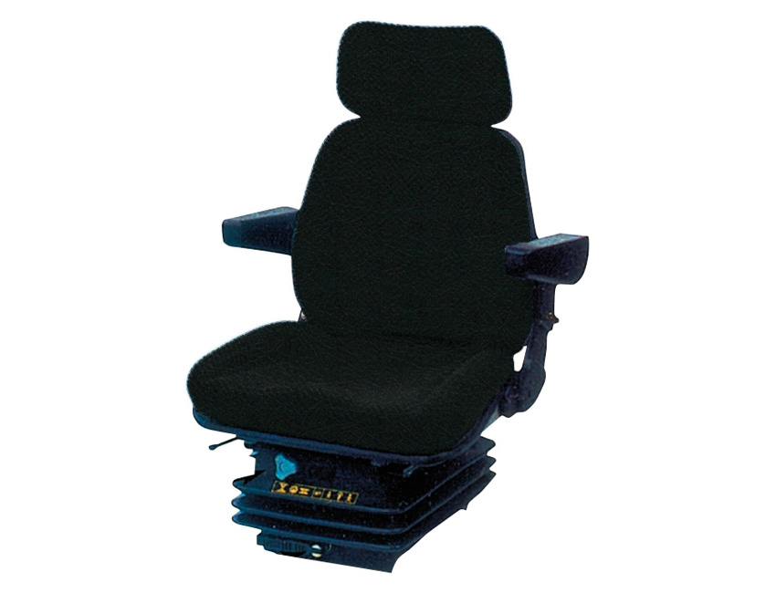 SC95TB-seat pilote sc 95 with blus tissue and armrests- headrest (on case)-seimi