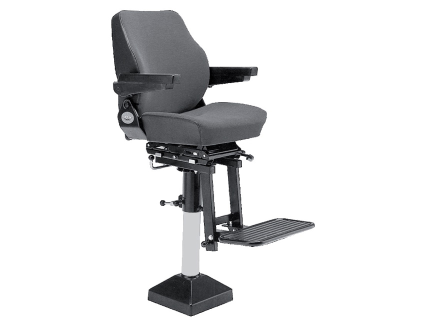 KF106VFA-skipper chair type kf106vfa black vinyl-seimi