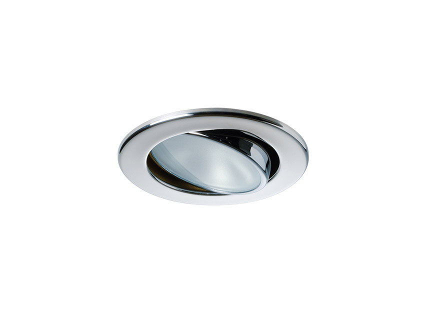LUCEA-spot a led reglable 10-30v 4 w finition inox poli-seimi