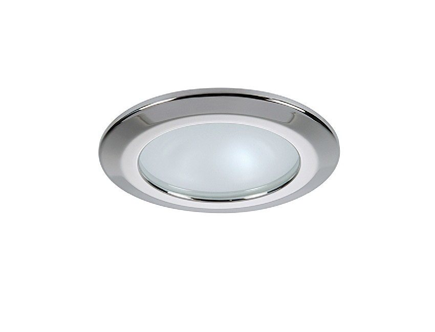 HIKARIR-spot a led rouge 10-30v 4 w finition inox poli-seimi