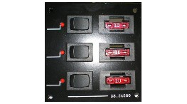 TP6F-6-way blade fuse dc panel-seimi