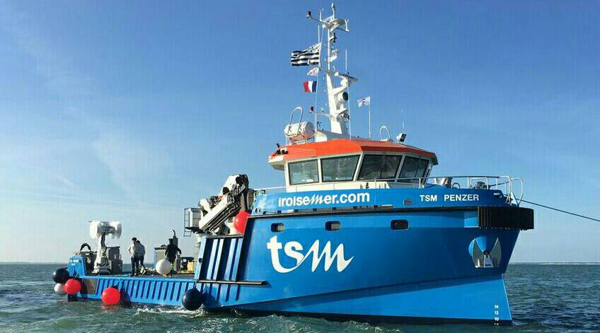 The Penzer vessel by TSM Iroise Mer - SEIMI Marine Equipments