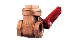 "1525114-bronze lever gate valve g bsp thread: 1""1/4-seimi"